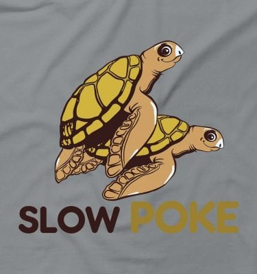 Slow Poke Funny Rude Offensive Turtle Sex