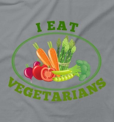 I Eat Vegetarians Funny Rude Offensive Humour Meat