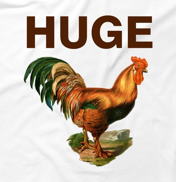 Huge Cock Funny Offensive Chicken Penis Humour
