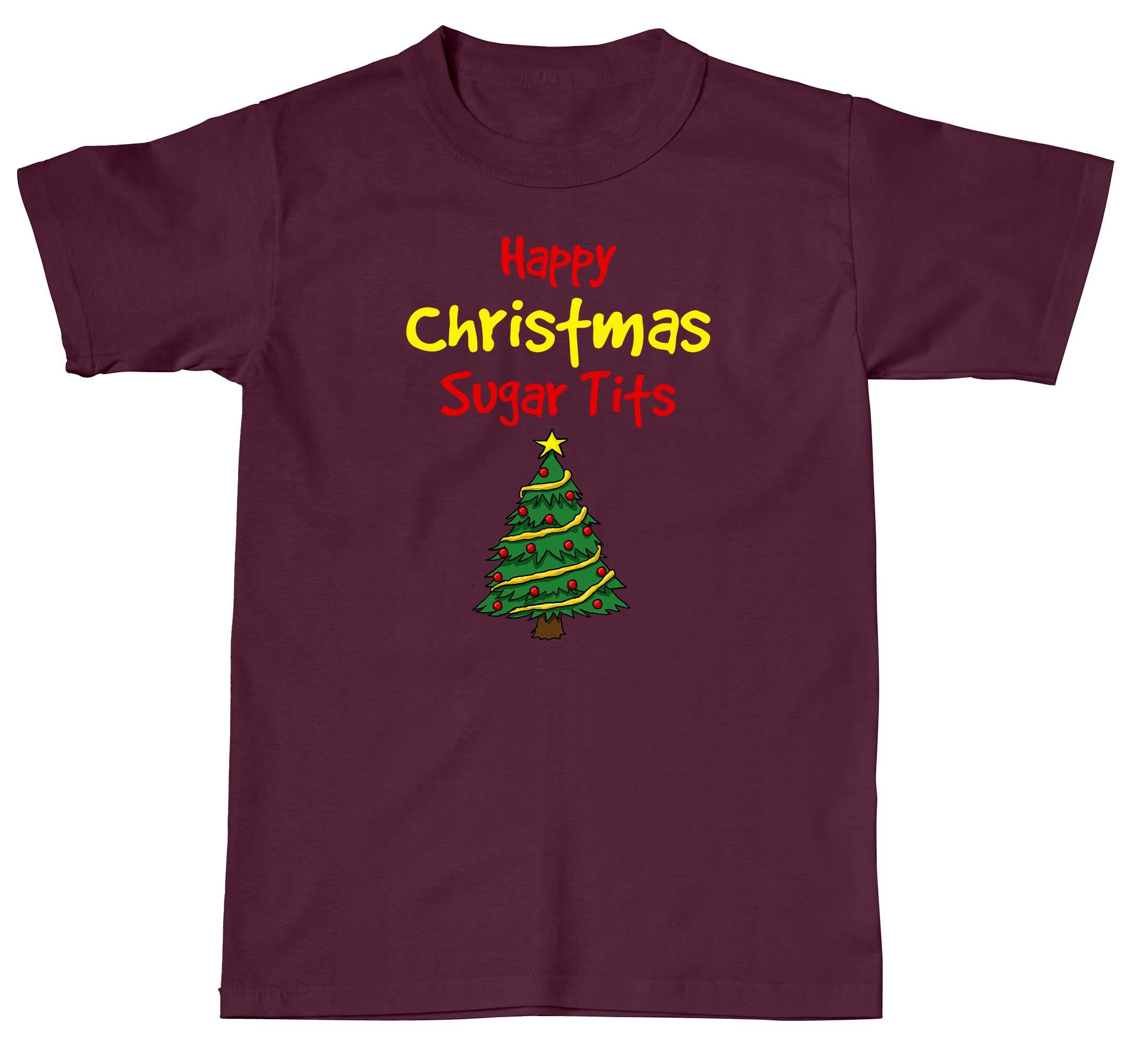 Happy Christmas Sugar T*ts - Rage Tees