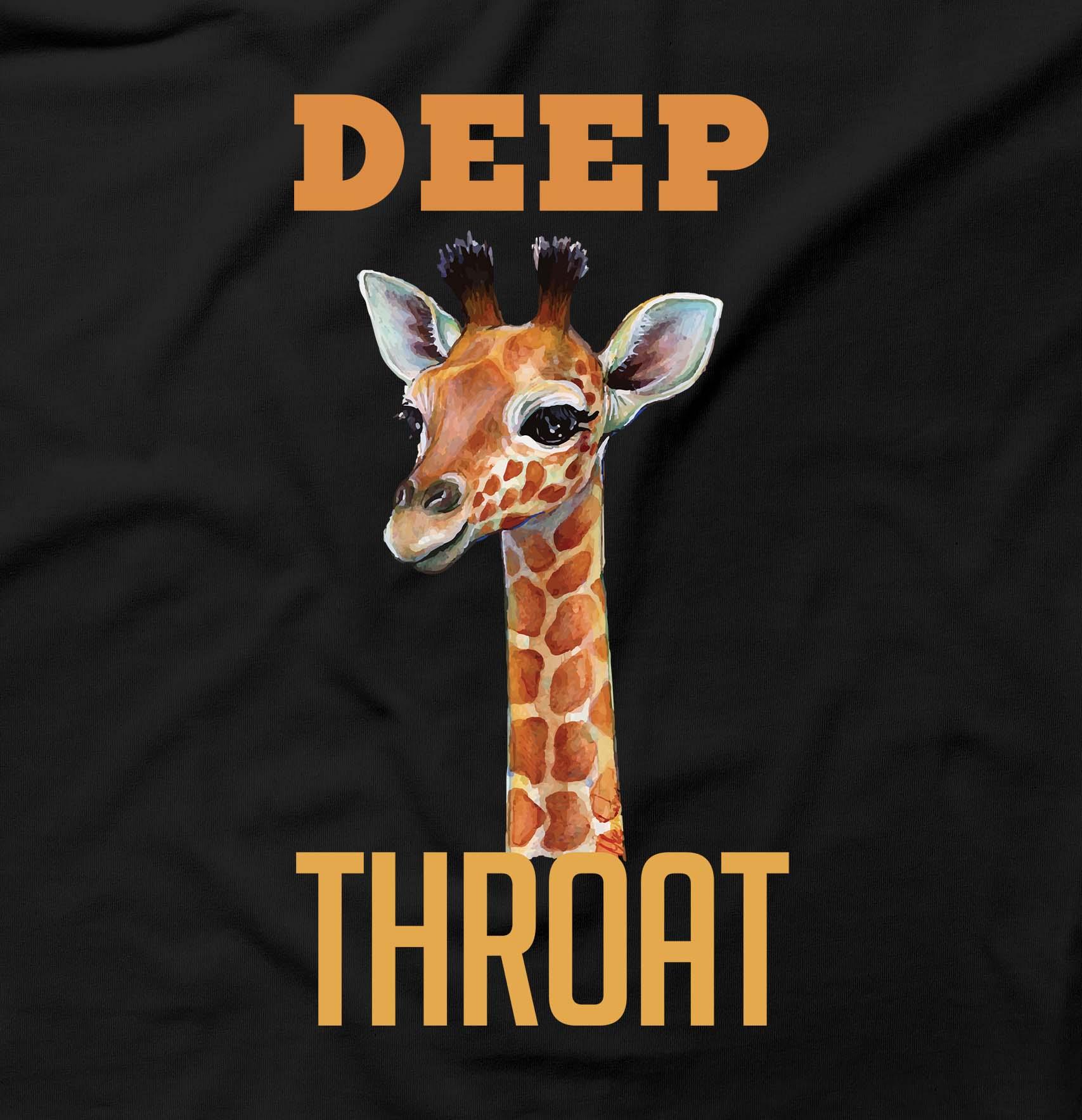 Deep Throat Funny Giraffe Rude Offensive Humour BJ