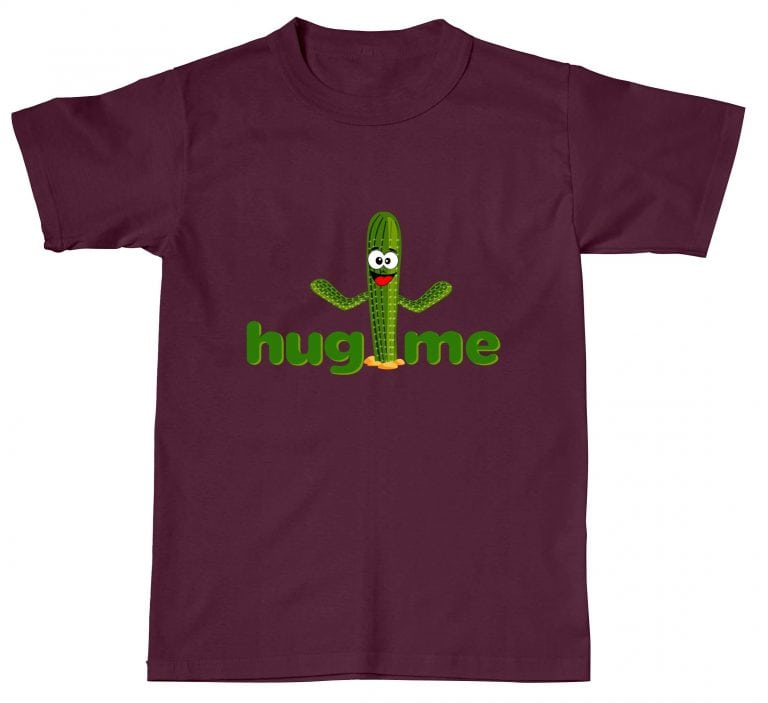 Hug Me Cactus Funny Humour Offensive Hipster