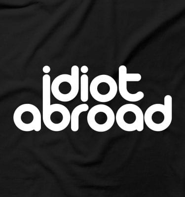 Idiot Abroad Funny Humour Brit Offensive Moron
