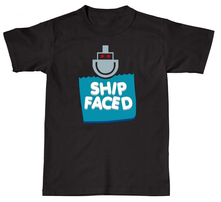 Ship Faced Funny Humour Rude Offensive Sh*t