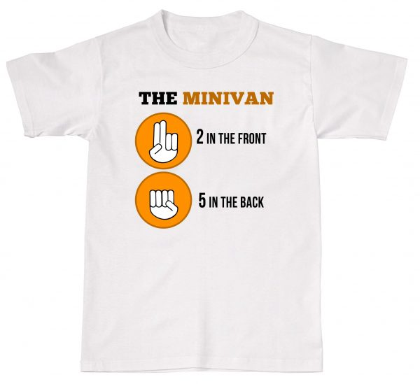 The Minivan 2 In the Front 5 In the Back Offensive Rude