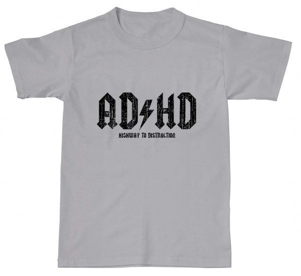 AD/HD ADHD Highway To Distraction Funny