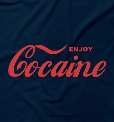 Enjoy Cocaine Cola  Funny Drug Retro Coke