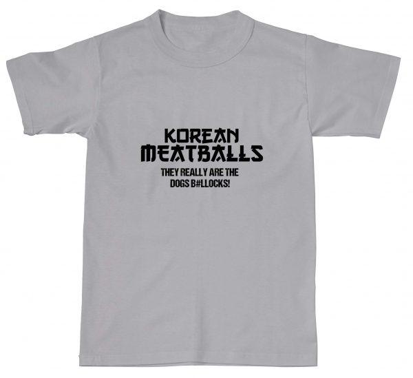 Korean Meatballs Are The Dogs Bollocks
